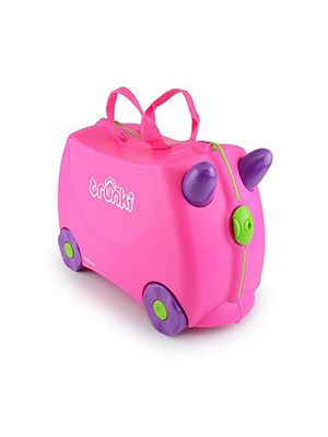 Trunki Tigerorange Tipu, kinderkoffer Handgepäck,  Farbe orange, 18 Liter, Reiseartikel Webshop weshop.ch