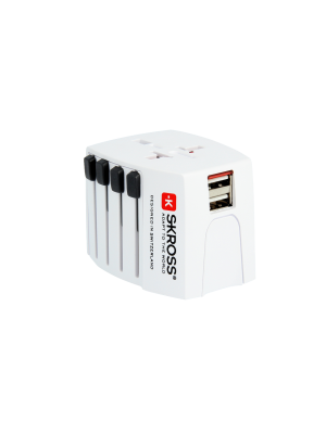 SKROSS World-Reiseadapter MUV USB