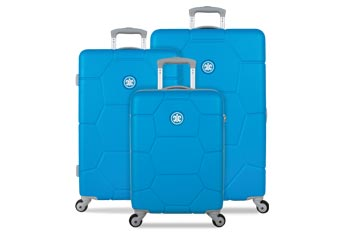 Hartschallenkoffer Suisuit Caretta Blue Mint Set weshop.ch Schweiz