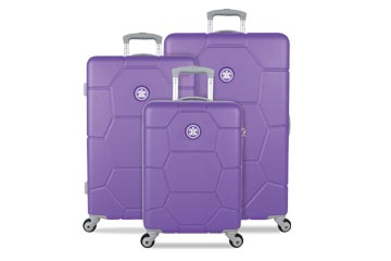 Hartschallenkoffer Suisuit Caretta Purple Heart Set weshop.ch Schweiz