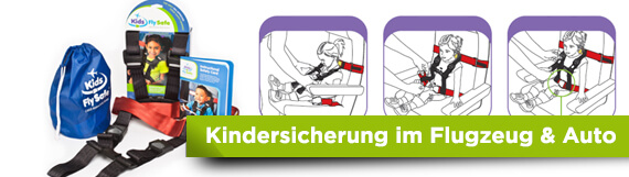Kids Flay Safe Kindersicherung Reisen, Onlineshop für Reiseartikel weshop.ch